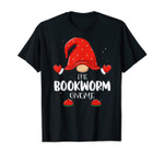 Bookworm Gnome Matching Family Group Christmas Pajama T-Shirt