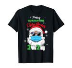 Merry Quarantine Christmas 2020 Funny Xmas Pajamas Family T-Shirt