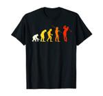 Great Golf Evolution Design Gift Golfer Golf Course T-Shirt