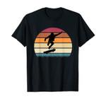Skateboard Skater Retro Skateboarding Gift Boys Teens Men T-Shirt