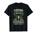 Buck Hunting Shirt Man Hunting Gift For Dad Deer Hunting T-Shirt