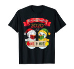 Newlywed Married Couple Shirt First Christmas As Mr. & Mrs. T-Shirt