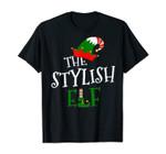 The Stylish Elf Family Matching Group Gift Christmas Costume T-Shirt