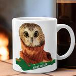 Owl Rockefeller Mug Gift For Owl Lovers Custom Coffee Mugs Good Christmas Presents