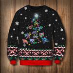 Turtle Christmas Tree Sweatshirt Funny Sea Turtle Xmas Gift Idea