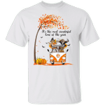 Sloth It's The Most Wonderful Time Of The Year T-Shirt Cute Pumpkin Sloth Halloween Fall Shirt