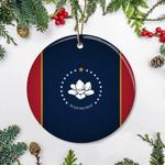 New Mississippi Flag 2020 Ornament Patriotic Christmas Tree Decorations Idea 2020