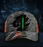 Thin Green Line American Flag Hat Honoring US Army Cap For Men Veteran Gift For Retired