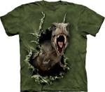 T-Rex 3D T-Shirt Funny Dinosaur Graphic Tee For Men Women Gift For Dinosaur Lover