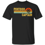 Pontoon Captain Shirt Funny Pontoon Boat Captain T-Shirt For Women Men Gift