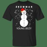 Jeezy Snowman Shirt The Snow Man T-Shirt Jeezy Funny Christmas Gift Idea