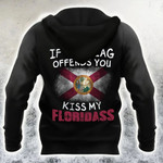 If The Flag Offend You Kiss My Floridass Hoodie Patriotic Humor Florida Hoodie For Men Women