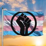 Transgender Flag Black Trans Live Matter Flag Blue Pink White Trans Pride Flag