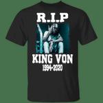 King Von Shirt Rest In Peace King Von 1994-2020 T-Shirt