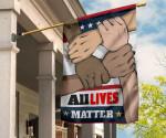 All Lives Matter Flag BLM Black Lives Matter Flag For Garden Decor