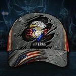 Marine Veteran Hat 3D Patriotic Eagle American Flag Cap Usmc Veteran Hat