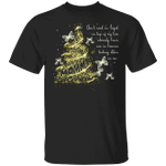 Butterfly Mommy Don't Need An Angel On Top Of My Tree Shirt Gift  For Woman Girls