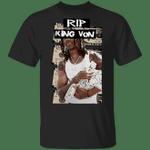 RIP King Von Shirt King Von Merch Money Shirt For Memorial, Rip King Von Merch