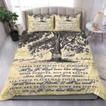 The Beatles In My Life Lyric Vintage Bedding Set Music Comforter Set Gift For Beatles Fans