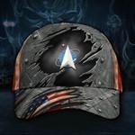 US Space Force America Hat Cap For Men Patriotic Gift