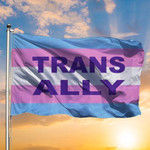 Trans Ally Flag Transgender Flag For Trans Day Of Remembrance 2020 Trans Pride Flag