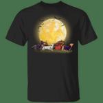 Dachshund Walking Halloween T-Shirt Halloween Gift For Dachshund Lovers Cute Shirt