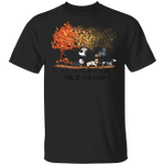 Dachshunds It's The Most Wonderful Time Of The Year Shirt Fall Tree Autumn Shirt For Halloween