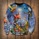 Dragon Family Reunion Christmas Sweatshirt Ugly Christmas Sweatshirt Designs Gifts For Family
