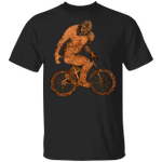 Sassquatch Shirt Hilarious Bigfoot Cycling T-Shirt Vintage Graphic Tees Funny Gifts For Bikers