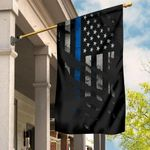 Thin Blue Line American Flag Gift Ideas For Police Officers Gadsden Flag Home Decor Items