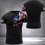 Texas American Flag T-Shirt Gift For Patriot Veterans Days