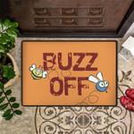 Buzz Off Doormat Funny Go Away Doormat Best Outdoor Doormat Outside Door Mat