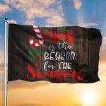 Jesus Is The Reason For The Season Flag Christmas Flag Religious Holiday Christian Gifts
