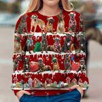 Cane Corso Dog Christmas Sweatshirt Ugly Christmas Sweatshirt Xmas Present For Dad