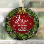 Jesus Is The Reason For The Season Ornaments Christmas Home Decor