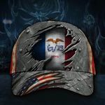 Iowa State Flag Hat 3D Printed American Flag Vintage Iowa Hat 2