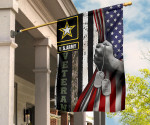 US Army Veteran Inside American Flag Pride Flag For Yard Decor Thanks For Serving Of Army Vets