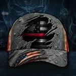 Firefighter Flag Hat Cap Vintage Hat Proud State