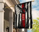 Red Friday Vintage American Flag Military Soldier Memorial Veteran Day Gift For Home Yard Decor