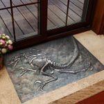 Dinosaur Fossil Doormat Dinosaur Skeletons Door Mat Vintage Designs, Seasonal Gifts For Parents