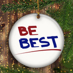 Be Best Ornament White House 2020 Ornament For Christmas Tree Decor