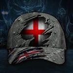 England 3D Hat Print Union Jack Flag Cap Vintage Hat England Hats For English Men Gift