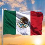 Golden Eagle Flag Mexican Flag Bird Outdoor Hanging Decor