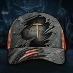 Jesus Forgiven Classic Hat 3D Print Christian Religion God Easter Cap Dad Hat Merch Gifts