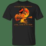 Sloth On A Dark Desert Highway T-Shirt Funny Gift For Sloth Lovers Halloween Shirt Cute Design