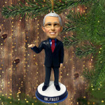 Dr.Fauci Christmas Ornament Dr Fauci Ornament Best Christmas Ornament 2020 Xmas Tree Decorated