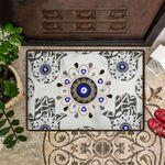 Evil Eye Doormat Outdoor Indoor Entry Mat Entrance Doormat New Home Decor