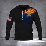 Arizona State Flag - American Flag Hoodie Arizona Flag Basic Hoodie For Men Christmas Gift