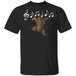 Sloth Plays Music String T-Shirt Funny Sloth Unisex Tee Gift For Classmate