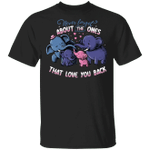 Elephants Never Forget The Ones That Love You Back T-Shirt Cute Family Shirt Gift For Him Her